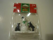 New ! Lemax Village Figurine Coventry Cove Curious Cubs With Snowman