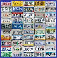 FULL SET of 50 UNITED STATES License Plates - USA Tags