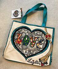 Brighton Summer of Love Large Canvas Tote Beach Gym Bag Purse Mermaid NWT $100