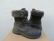 UGG BLACK OLIVE ADIRONDACK III WATERPROOF WINTER BOOTS, WOMEN US 8/ EUR 39 ~NIB