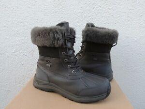 UGG BLACK OLIVE ADIRONDACK III WATERPROOF WINTER BOOTS, WOMEN US 8/ EUR 39 ~NIB