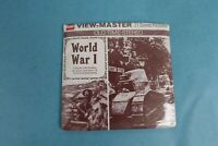 VINTAGE VIEW-MASTER 3D REEL PACKET B792 WORLD WAR I IN BLACK & WHITE SEALED