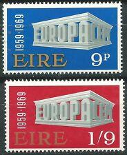 IRLANDA EUROPA cept 1969 Sin Fijasellos MNH
