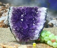 Large Amethyst Quartz Crystal Cluster Geode -  Natural Raw Mineral Healing 1984g
