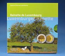 5 Euro Luxemburg 2014 Apfelbaum Reinette proof