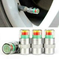 Tire Air Pressure Tester Sensor Gauge Car Auto Valve Cap Nice G6H5 Checker L4A0