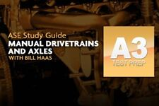 Complete ASE A3 Manual Drivetrain & Axels Test Prep Program / DVD / Manual 254