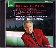 Barenboim firmati Richard Strauss una Alpi Filarmonica CD la donna senza ombra
