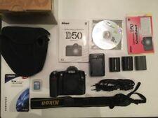 Nikon D50 6.1MP Digitalkamera (ohne Objektiv) - Schwarz, OVP