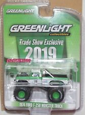 GREENLIGHT 2019 TRADE SHOW 1974 FORD F-250 MONSTER TRUCK #19