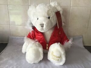 Original Harrods Teddy Bear, Oliver, 2018 with Tags.