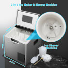 44Lbs Commercial Ice Maker Nugget Ice Crushed Ice Making Machine Countertop photo