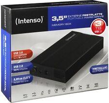 Intenso HDD externe Festplatte Memory Box 3,5 Zoll 3TB USB 3.0 schwarz