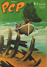 PEP 1969 nr. 03 - ROODBAARD (COVER) / ROB RENSENBRINK (DWS) / VARIOUS COMICS