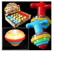 Wooden Spinning Tops Colorful Fruit Mushroom Gyroscope Kids Gift ToJB