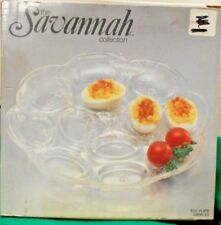 Savannah Collection 12 ct. Egg Plate  Essentials by Toscany