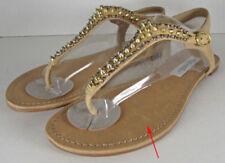 Leather Solid Gladiator Sandals & Flip Flops for Women