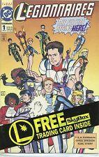 1993 Legionnaires #1 & #2 From Dc Comics Vf-Nm