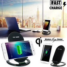 For Samsung Galaxy S8 S6 S7 Edge Fast Qi Wireless Charger Charging Stand Dock UK