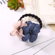 Elastic Hair Ring Flower Hair Rubber bands Rope Cloth Headbands Hair Accessories
