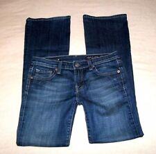 "Vigoss Jeans Women's size 5 4 30"" waist Flare Dark Wash Button Flap Pockets 31"