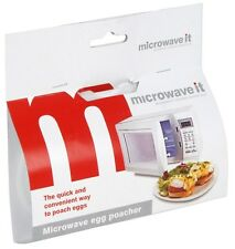 Microwave It Microwaveable Plastic Egg Poacher - FREE P&P