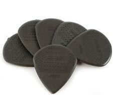 6 Pack Dunlop Nylon Max-Grip Jazz Carbon Fiber III Guitar Picks Plectrum 471P3C