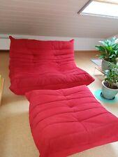 2-sitzer sofa, linet roset, togo mit Hocker