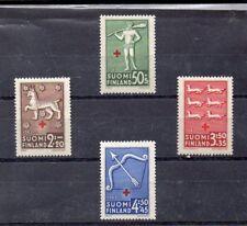 Finlandia Cruz Roja Serie del año 1943 (DR-347)