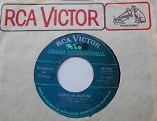 SYLVIE VARTAN Comme un garcon / Le Testament CANADA ORIG 1967 RCA 45