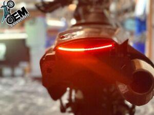 Rear Tail Light DRZ400 Complete Blinker Brake Tidy Kit Left Right Signals - LED