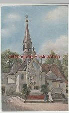(75689) artistes AK H. E. Kohl, Planegg, grâce chapelle Maria subissent 1933-45