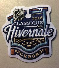 2016 NHL Winter Classic Classique Hivernale Canadiens Vs Bruins Jersey Patch