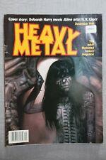More details for heavy metal december 1981 vol. v #5 ~ deborah harry meets h. r. giger!