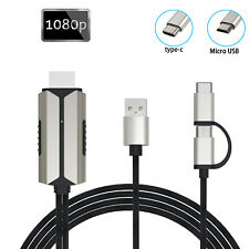 USB-C Type C to HDMI HDTV TV Cable Adapter For Samsung Galaxy S20 5G S10 MacBook