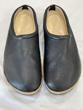 Haflinger  Black  Clog Leather Shoe Women's size 46