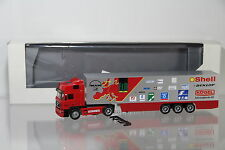 "Herpa Man f2000 19.463 Valise semi-remorque ""Trans Euro Test"" ROUGE/h2235"