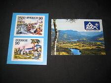 1975 World Jamboree 2 different Postcards               j15