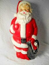Vintage Empire Lighted Santa Blow Mold Figure Dated 1968