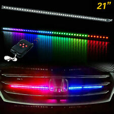 "24"" RGB LED Knight Rider Strip Scanning Light Behind Grill For Chevy Trucks"