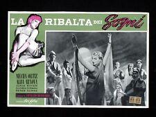 LA RIBALTA DEI SOGNI fotobusta poster Mecha Ortiz Arnova Pájards de cristal U43
