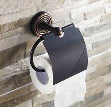 Oil Rubbed Bronze Bathroom Toilet Paper Holder Roll Tissue Holder Rack Kba121