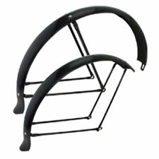 "26"" BEACH CRUISER BIKE BICYCLE FENDER FLARED DUCKTAIL BLACK"
