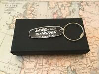 Land Rover Key Ring complete with box 70th Anniversary fob Defender Discovery 2
