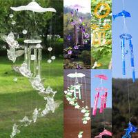 1pc Wind Chimes Bells Ornament Windbell Gift Yard Garden Home Decor 7 Patterns