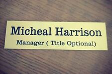 Personalised Door Name Plate Sign Adhesive door sign Office Sign Custom sign