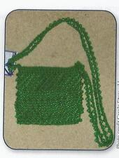 Crochet Pattern ~ SIMPLE BEADED PURSE ~ Instructions