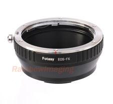Canon EOS EF EFS Lens to Fujifilm Fuji X-Pro2 X-E3 X-E2 X-A1 X-M1 X-T1 Adapter