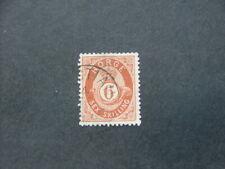 Norway 1872 6s brown SG44 FU