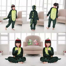 Dinosaur Child Kigurumi Pajamas One Piece Cosplay Costume Cute Sleepwear